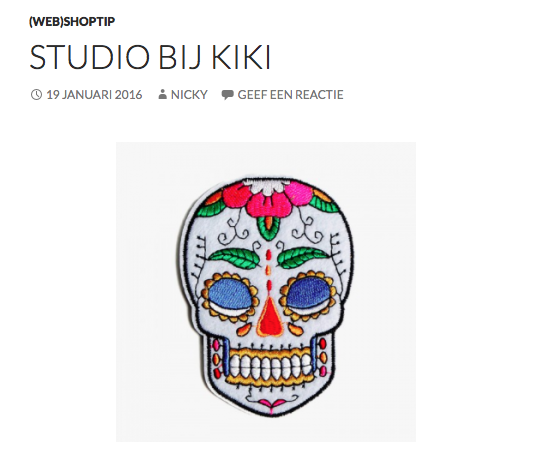 Momstylefile #bijkiki #trends #skull #patch #embroidery